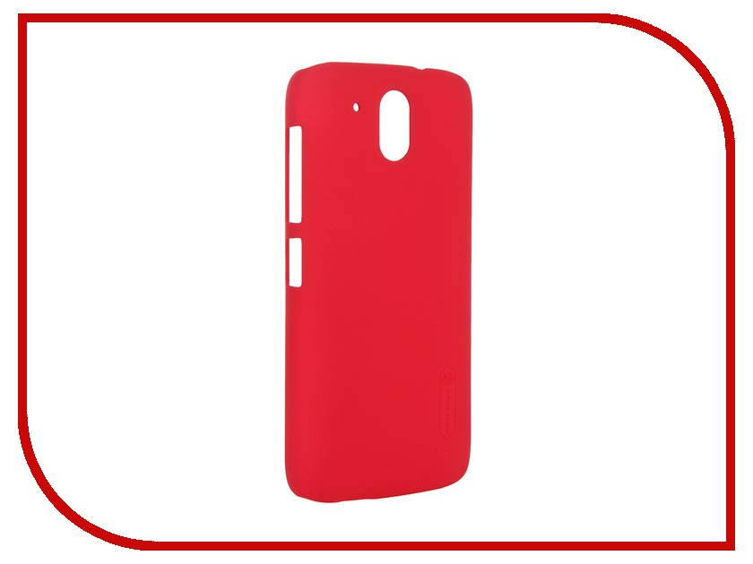 Аксессуар Чехол HTC Desire 326 / 526 Nillkin Frosted Shield Red<br>