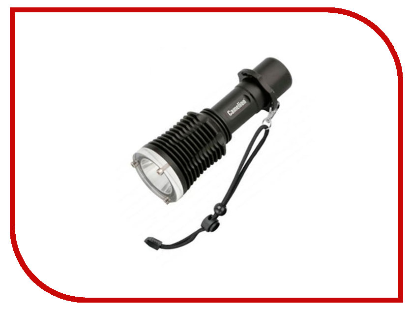Фонарь Camelion LED51514R Black ag7 bp10 camelion