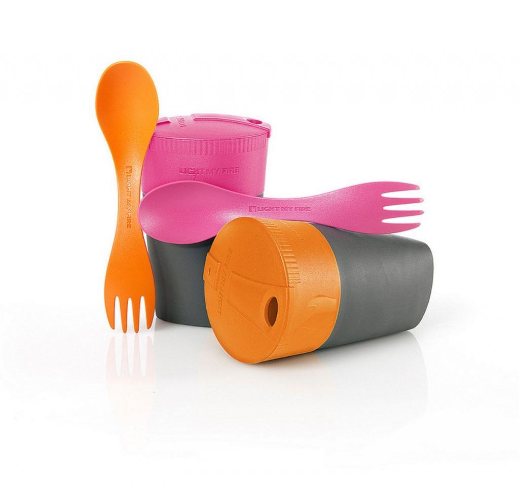 Набор Light My Fire Cup-n Spork Orange/Fuchsia 50396510-1
