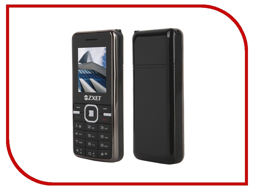 Сотовый телефон Zxet 450 CDMA Black<br>
