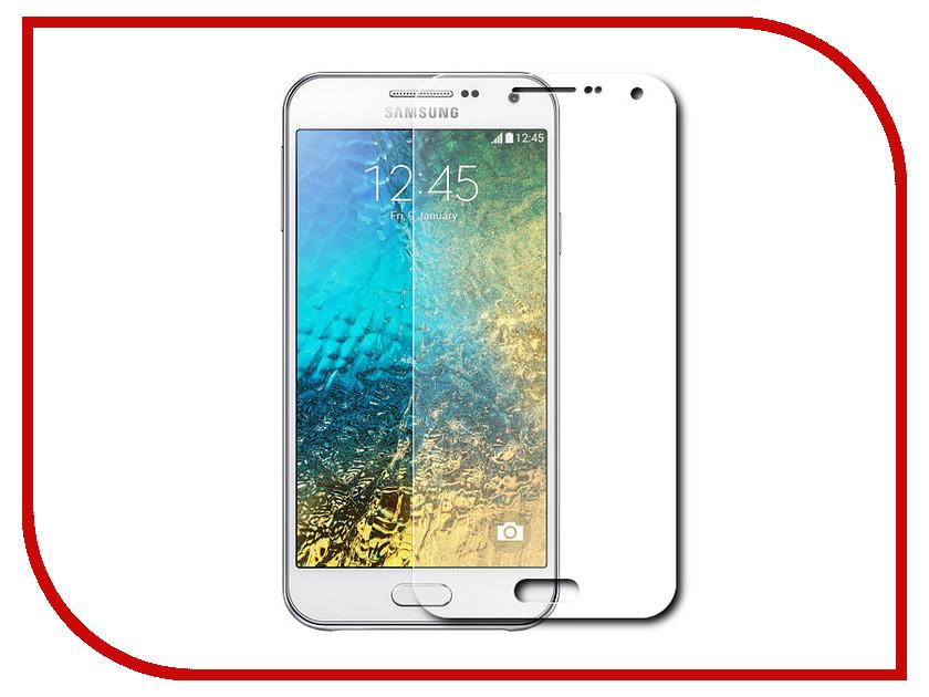 Аксессуар Защитное стекло Samsung Galaxy E5 SM-E500 InterStep SAMGALXE5 38656