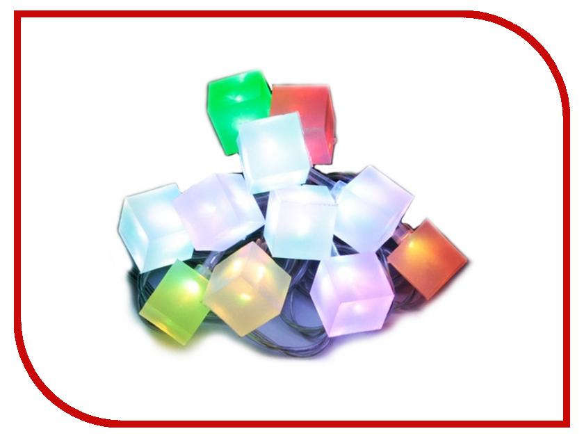 Гирлянда Orient Ледяные Кубики светодиодная от USB NY5075N