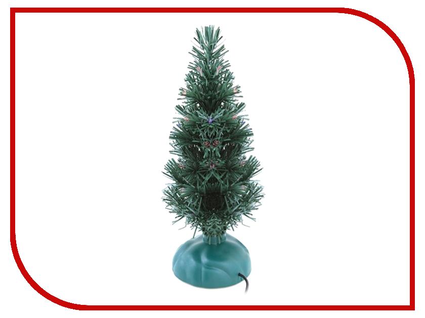 Новогодний сувенир Orient Ёлочка зелёная с мерцающими огоньками и музыкой USB 337M<br>
