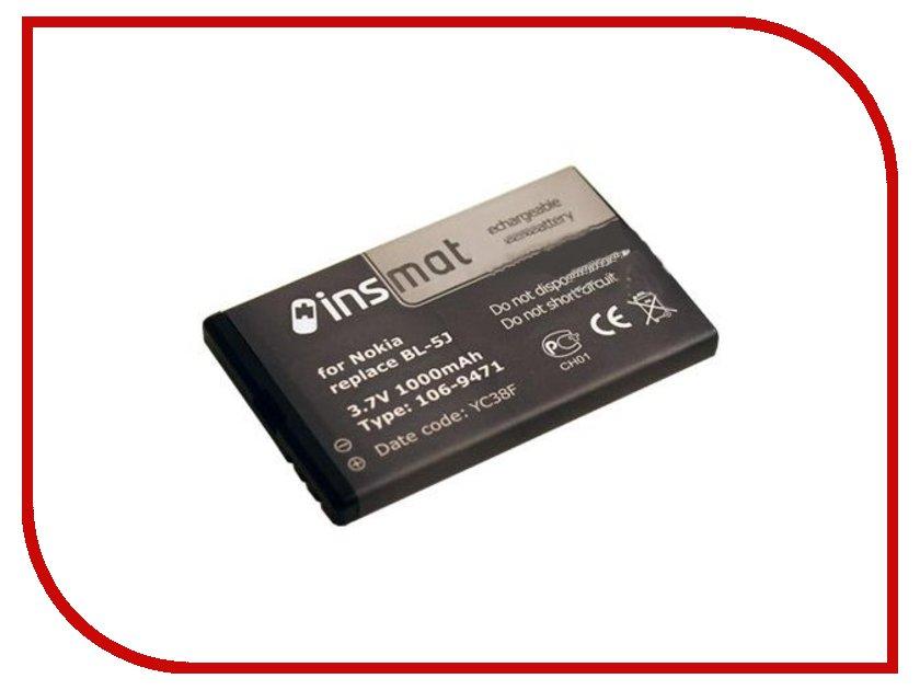 ��������� ����������� Nokia BL-5J Insmat 1000 mAh 106-9471