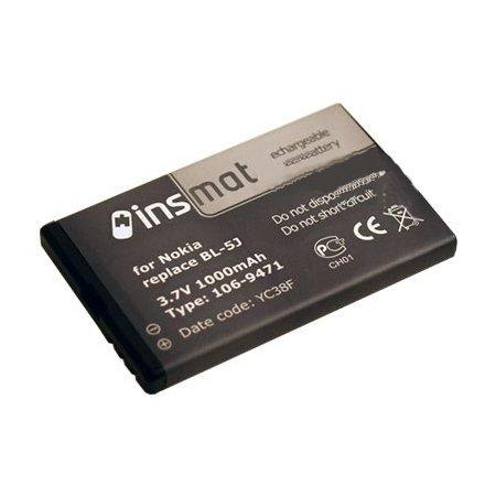 Аксессуар Аккумулятор Nokia BL-5J Insmat 1000 mAh 106-9471
