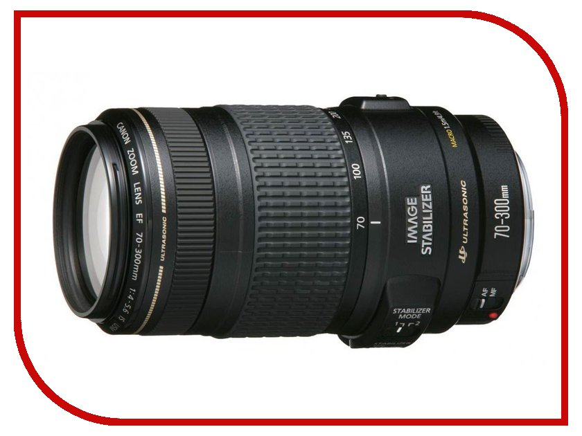 Объектив Canon EF 70-300mm f/4.0-5.6 IS USM<br>