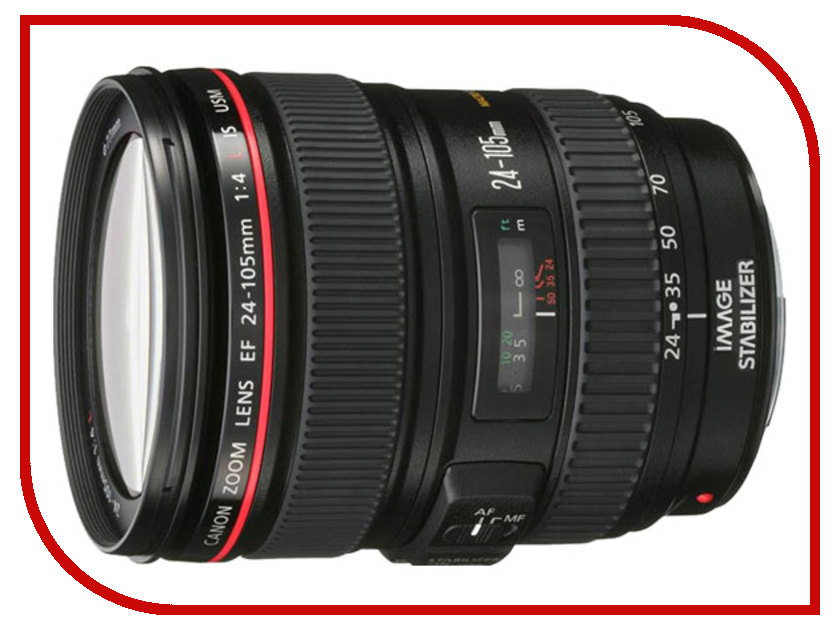 Объектив Canon EF 24-105mm f/4L IS USM все цены