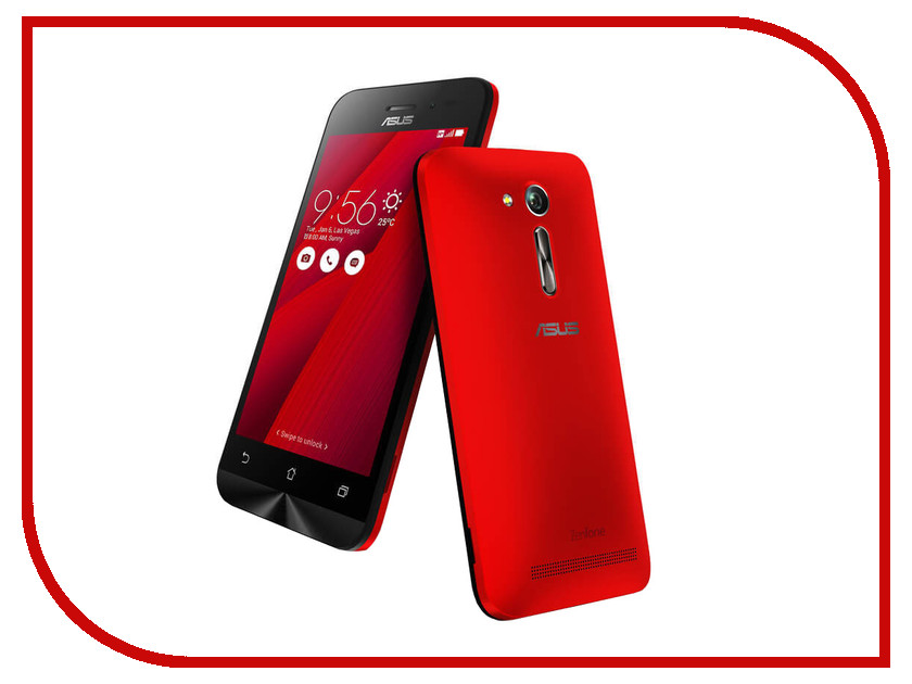 Сотовый телефон ASUS ZenFone Go ZB452KG Red