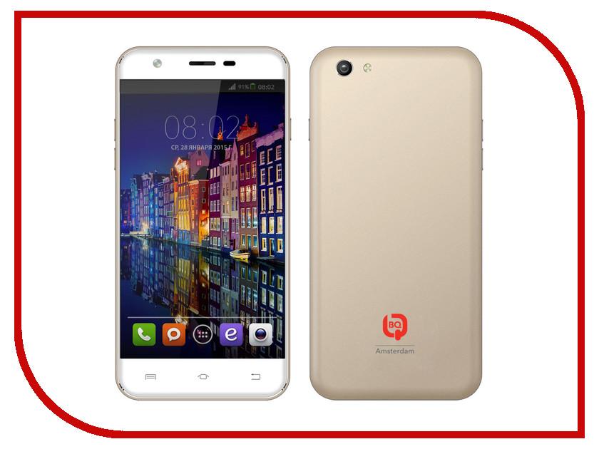 Сотовый телефон BQ BQS-5505 Amsterdam Gold<br>