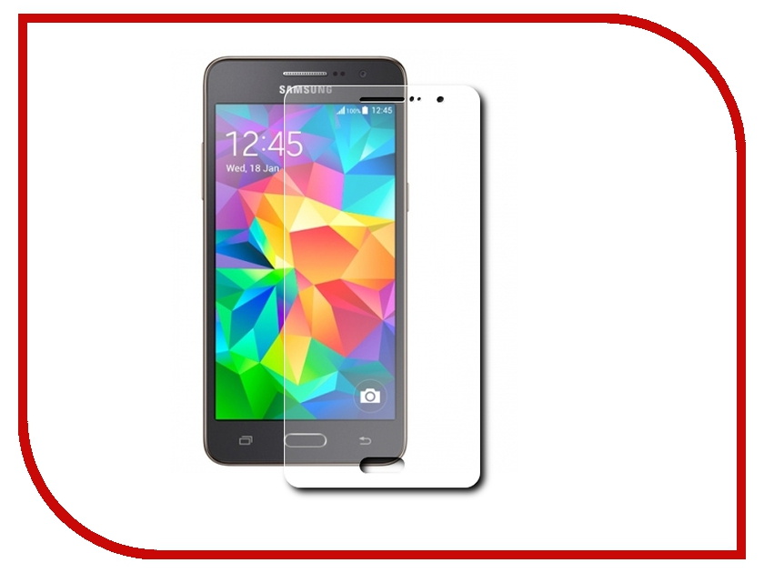 Аксессуар Защитная пленка Samsung Galaxy Core Prime G360 InterStep Ultra ультрапрозрачная SAGCOPRUC 38587