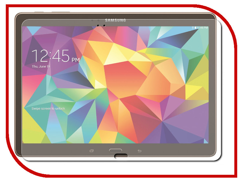 Аксессуар Защитная пленка Samsung Galaxy Tab S 10.5 InterStep Ultra ультрапрозрачная TABS10USC 37566<br>