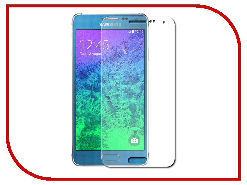 Аксессуар Защитная пленка Samsung Galaxy Alpha SM-G850F InterStep Ultra ультрапрозрачная SGALPHUCL 37846<br>