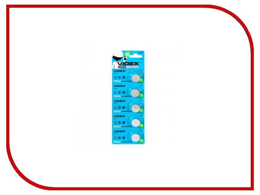Батарейка Videx Lithium CR1632 BL-5<br>
