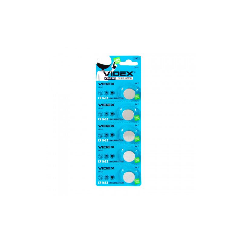 Батарейка Videx Lithium CR1632 BL-5