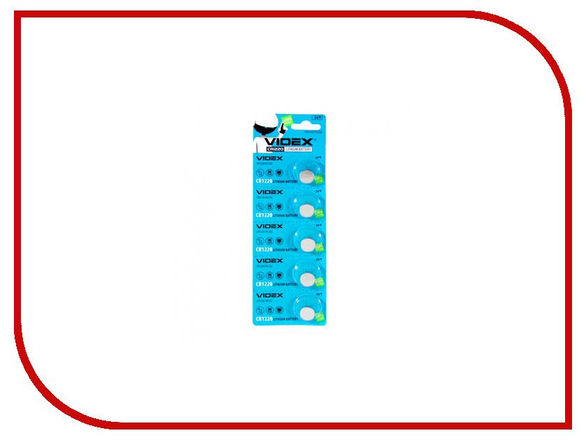 Батарейка Videx Lithium CR1220 BL-5<br>