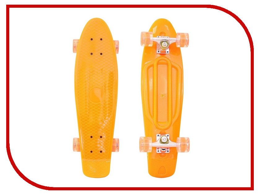 Скейт RT Penny Board Classic 26 YWHJ-28 67x18 Orange 146315