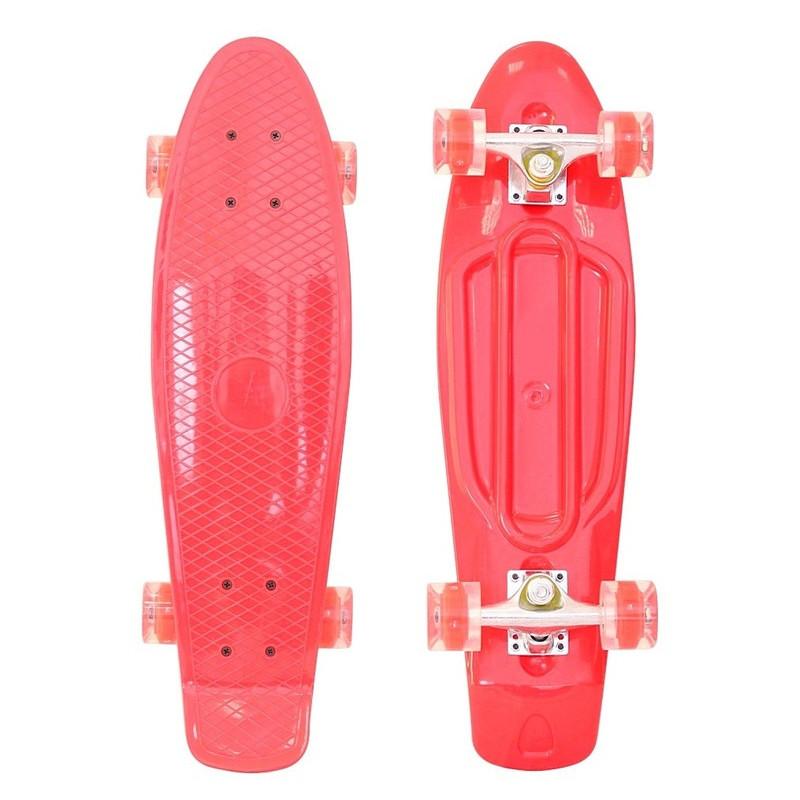 Скейт RT Penny Board Classic 26 YWHJ-28 67x18 Red 146315