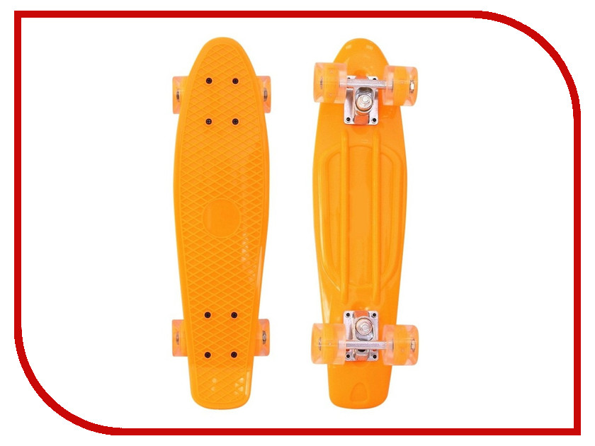 Скейт RT Penny Board Classic 22 YQHJ-11 56x15 Orange 146314