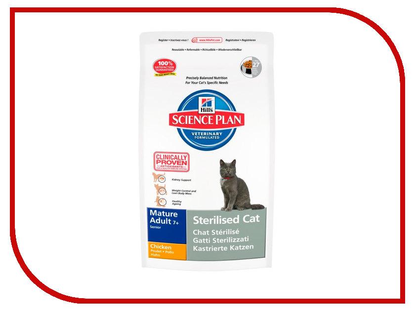Корм Hills 3.5kg для стерилизованных пожилых кошек 7+ 9356<br>