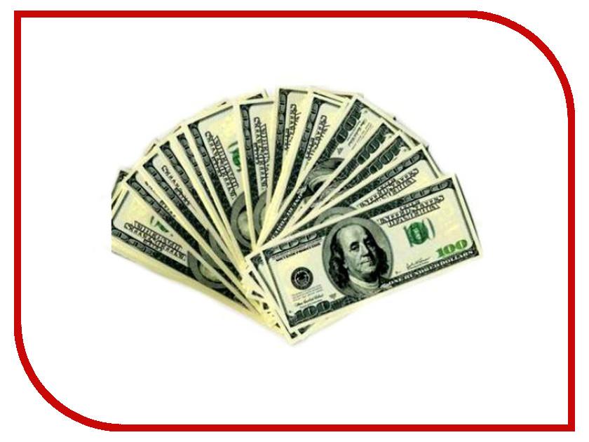 Шуточные купюры СмеХторг Бабки 100 баксов пачка 100 шт светящиеся палочки браслеты смехторг 100 штук