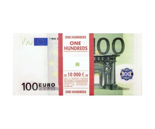 СмеХторг Шуточные купюры - бабки 100 евро пачка шт