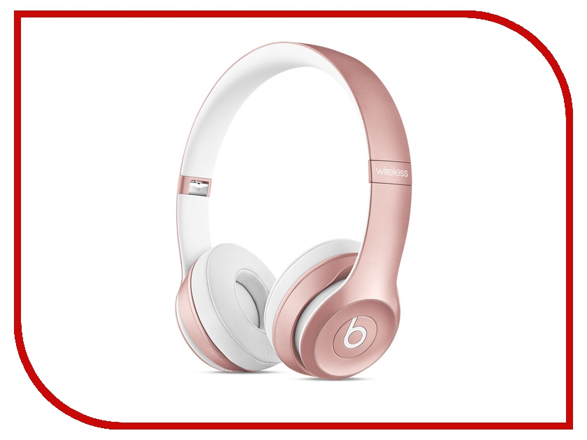 Гарнитура Beats Solo 2 Wireless Rose Gold MLLG2ZE/A<br>