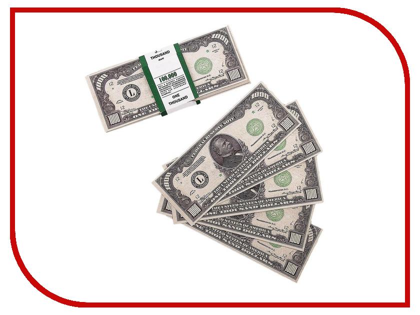 цена СмеХторг Шуточные купюры - бабки 1000 баксов пачка 100 шт