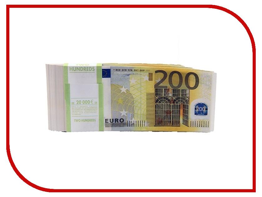 Гаджет СмеХторг Шуточные купюры - бабки 200 евро пачка 100 шт