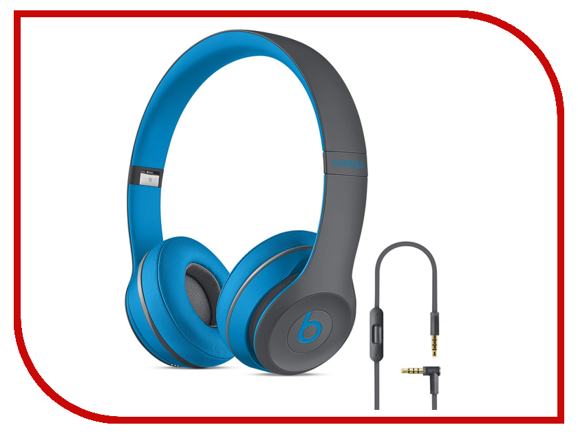 �������� Beats Solo 2 Wireless Active Collection Blue MKQ32ZE/A