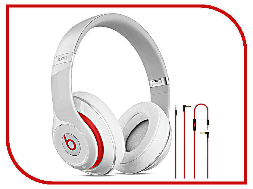 Гарнитура Beats Studio Over-Ear White MH7E2ZE/A