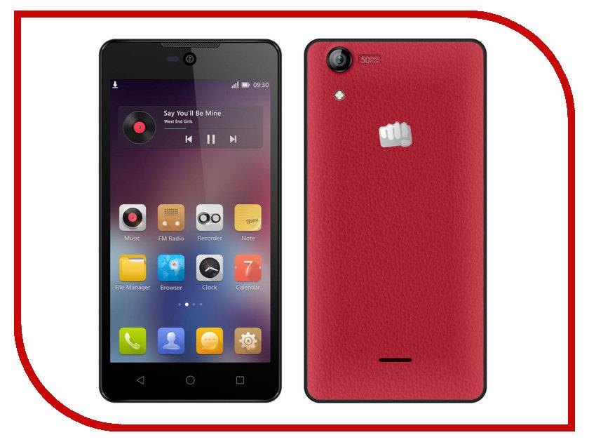 Сотовый телефон Micromax Q340 Red<br>