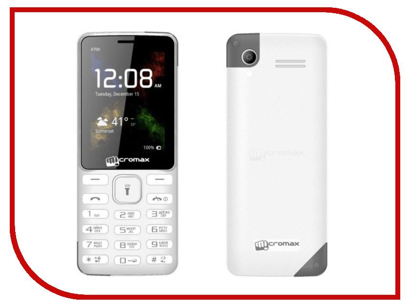 Сотовый телефон Micromax X700 White