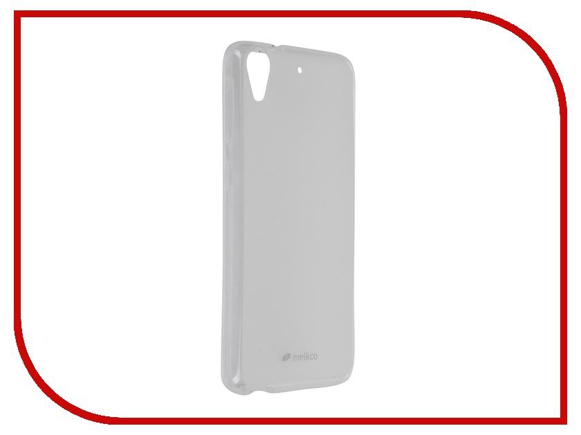 Аксессуар Чехол Zibelino for HTC Desire 626 / 626G Dual Sim / 626G+ Dual Sim / 628 Melkco TPU Transparent Mat 8250
