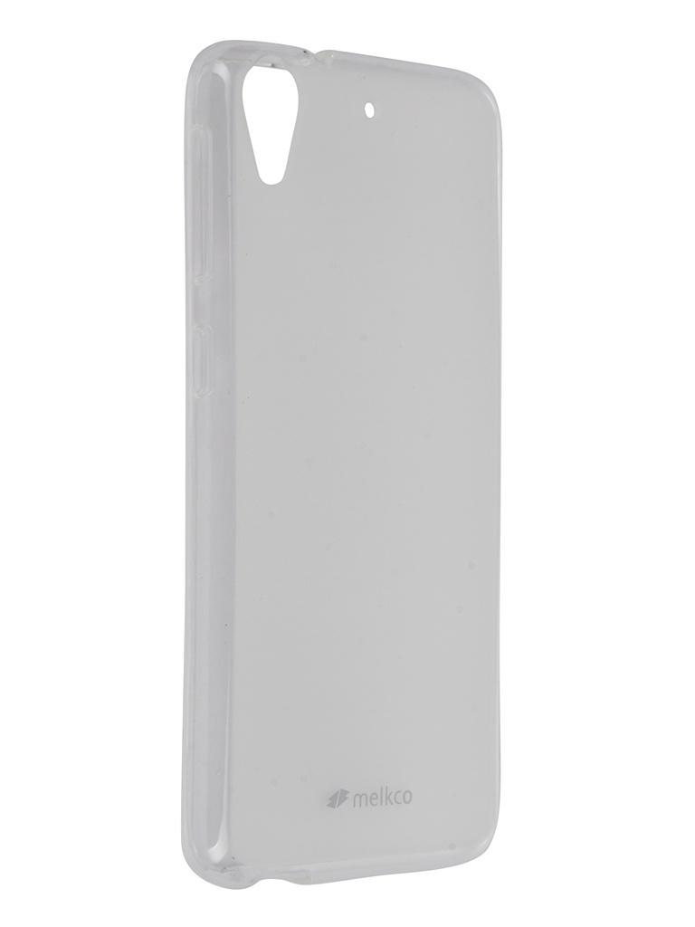 ��������� ����� HTC Desire 626G Melkco TPU Transparent Mat 8250