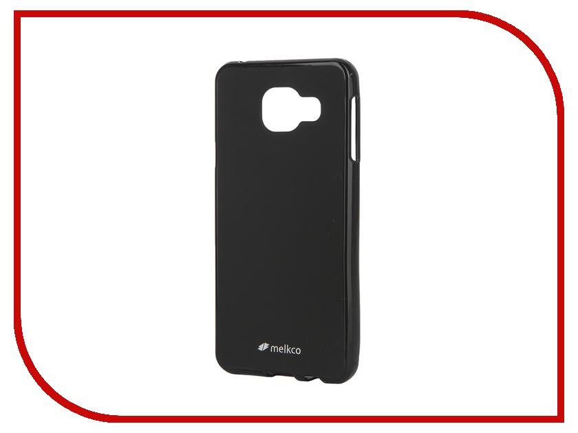 Аксессуар Чехол Samsung Galaxy A3 (2016) Melkco TPU Black Mat 9002