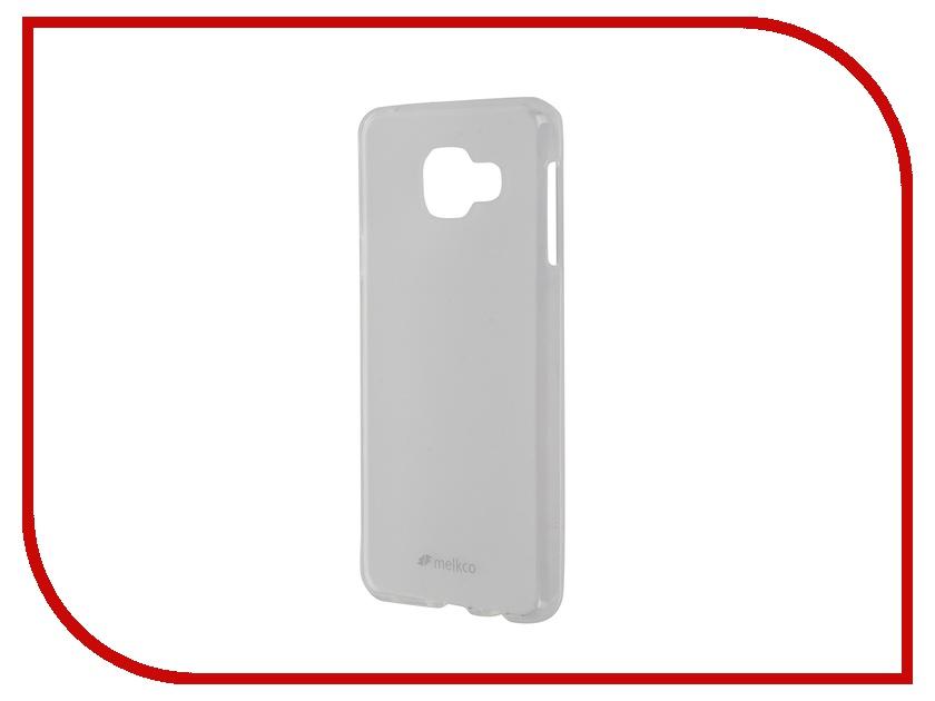 ��������� ����� Samsung Galaxy A3 (2016) Melkco TPU Transparent Mat 9258
