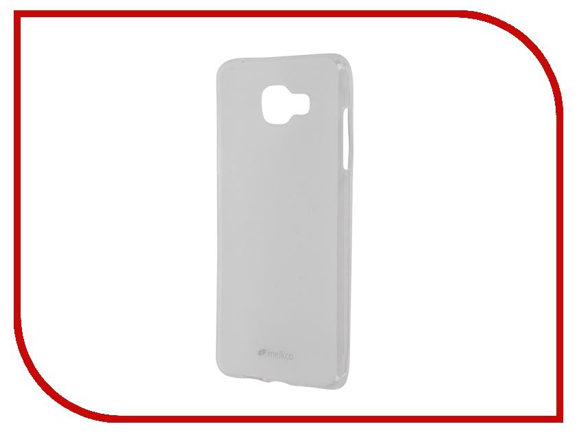 Аксессуар Чехол Samsung Galaxy A5 (2016) Melkco TPU Transparent Mat 9259<br>