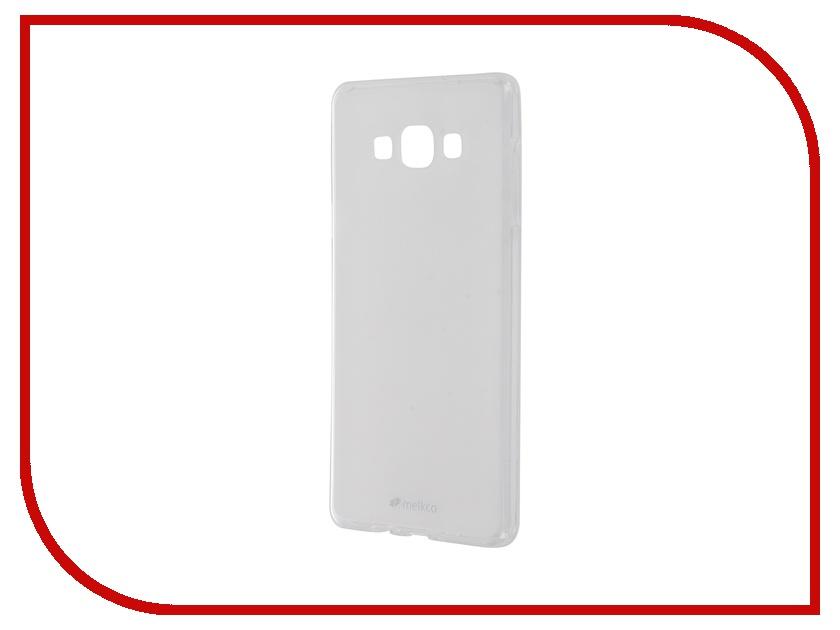 Аксессуар Чехол Samsung Galaxy A7 (2016) Melkco TPU Transparent Mat 7705 / 9261<br>