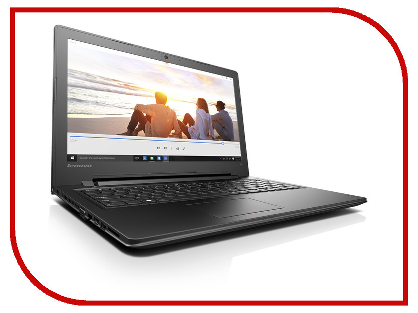 Ноутбук Lenovo IdeaPad 300-15IBR 80M300M9RK Intel Celeron N3060 1.6 GHz/4096Mb/500Gb/DVD-RW/Intel HD Graphics/Wi-Fi/Bluetooth/Cam/15.6/1366x768/Windows 10 64-bit<br>