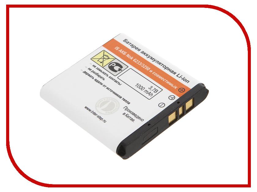 Аксессуар Аккумулятор Nokia 6233 3250 mAh InterStep NO6233BK 17049