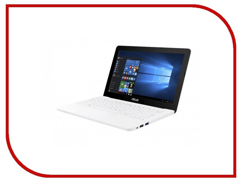 Ноутбук ASUS E202SA-FD0035T 90NL0051-M00710 (Intel Pentium N3700 1.6 GHz/2048Mb/500Gb/No ODD/Intel HD Graphics/Wi-Fi/Bluetooth/Cam/11.6/1366x768/Windows 10)