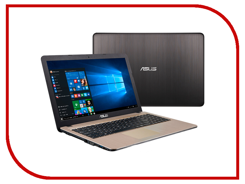 Ноутбук ASUS X540SC-XX041T 90NB0B21-M00750 Intel Pentium N3700 1.6 GHz/4096Mb/1000Gb/DVD-RW/nVidia GeForce GT 810M 1024Mb/Wi-Fi/Bluetooth/Cam/15.6/1366x768/Windows 10 64-bit<br>
