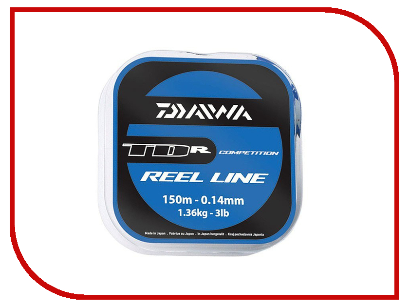 Леска Daiwa TDR Reel Line 0.14mm 150m 1 штука