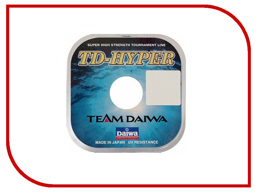 Леска Daiwa TD Hyper Tournament 0.28mm 100m 1 штука