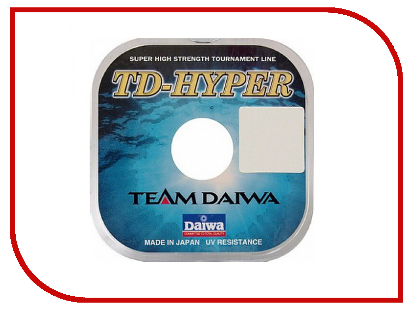 Леска Daiwa TD Hyper Tournament 0.12mm 100m 1 штука