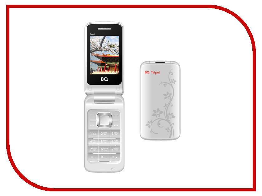 Сотовый телефон BQ BQM-2400 Taipei Silver