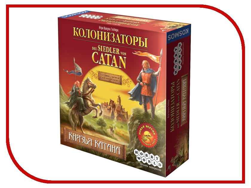 Настольная игра Hobby World Колонизаторы. Князья Катана 1193<br>