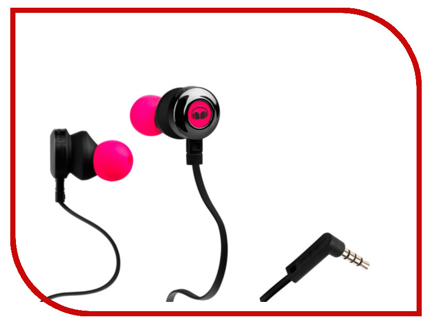 Monster Clarity HD Pink 128668-00