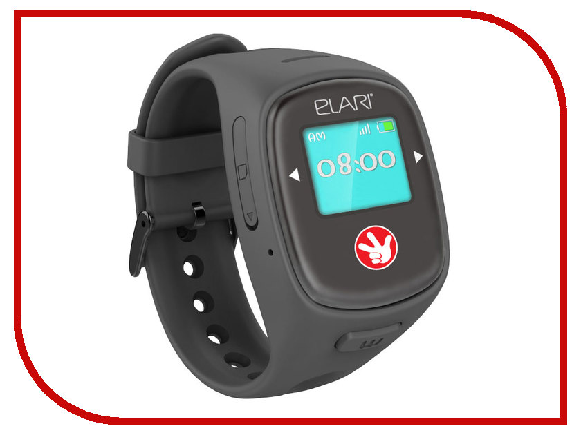 Zakazat.ru: Умные часы Elari Fixitime 2 Black