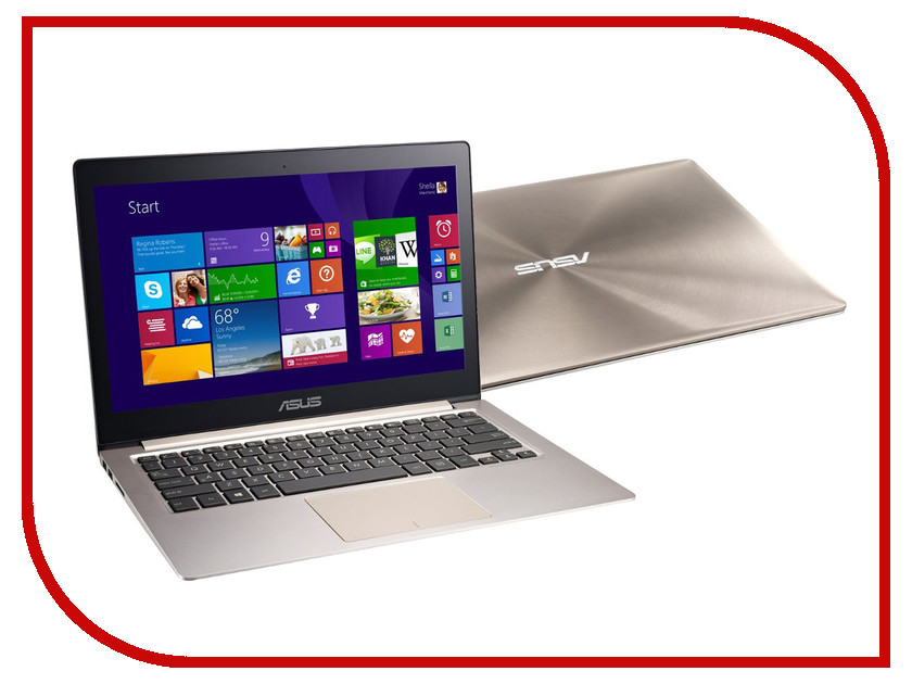 Ноутбук ASUS ZenBook UX303LB 90NB08R1-M03280 Intel Core i7-5500U 2.4 GHz/6144Mb/1000Gb/No ODD/nVidia GeForce 940M 2048Mb/Wi-Fi/Bluetooth/Cam/13.3/1920x1080/Windows 10 64-bit